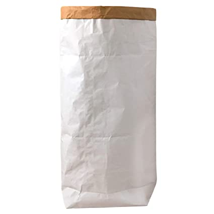 95 Grad Saco de Papel Kraft Bolsa Papel Ropa Sucia Blanco ...