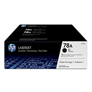 HP 78A | CE278D | 2 Toner Cartridges | Black