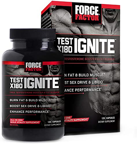 Force Factor Test X180 Ignite 120 Capsule