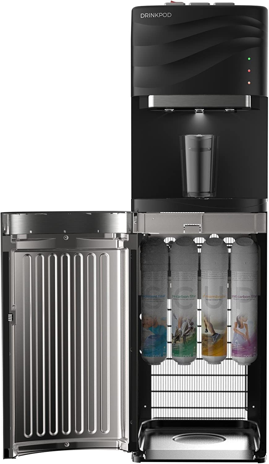 Drinkpod Bottleless Water Cooler Dispenser - With 4-stage of filters