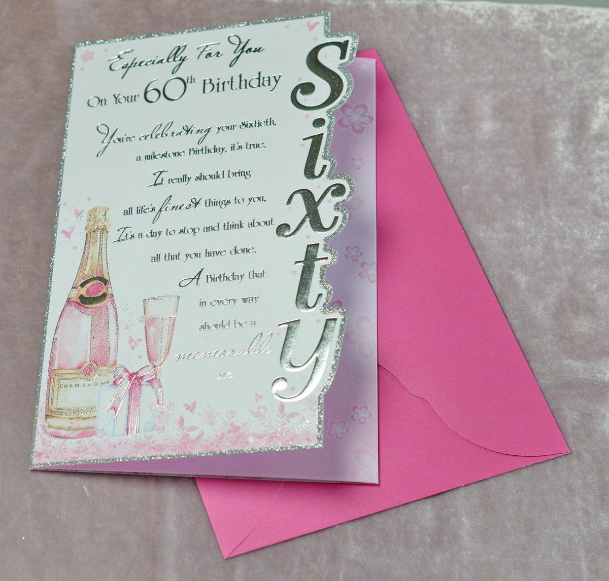 Ladies 60th Birthday Cards Amazon Kitchen Home