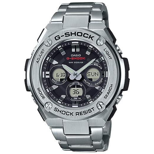 c1dd5171f935 Casio G-Shock G-Steel GSTS310D-1A Reloj de pulsera de acero inoxidable para  hombre  Casio  Amazon.es  Relojes