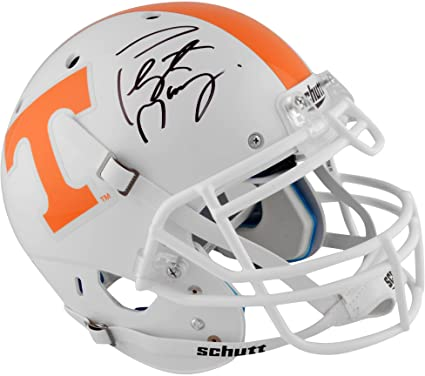 Image Unavailable. Image not available for. Color  Peyton Manning Tennessee  Volunteers Autographed Schutt Pro-Line Helmet - Fanatics Authentic Certified c15048e79