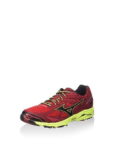 J1GJ157010, Chaussures de Running Homme - Rouge - Rouge/Noir, 44 EUMizuno