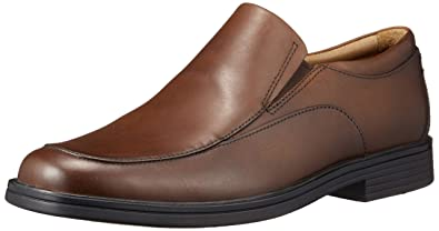 c993b2d34 Clarks Un Aldric Walk Leather Shoes in Dark Tan Standard Fit Size 6½