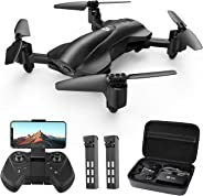 Holy Stone HS165 GPS FPV Drones with Camera for Adults 1080P HD, Foldable Drone for Beginners with Auto Return Home, Follow