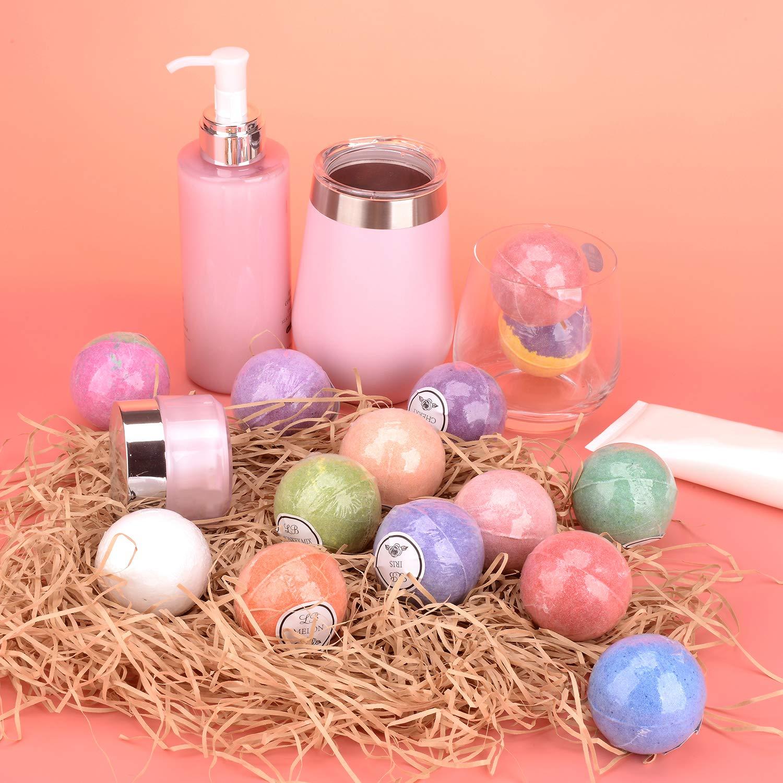 Bulk Bath Bomb Gift Set - 42 Bath Bombs for Kids, Women & Men! Ultra Lush Bath Bombs Perfect Gift Set for Women! by La Bombe (Image #6)