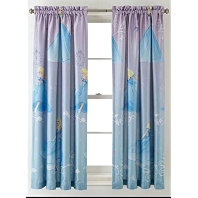 Princess Disney Cinderella Room-Darkening Window Panel Drape - 42x63: Toys & Games [5Bkhe1000704]