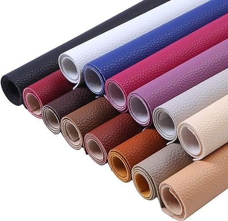 Hojas de cuero para manualidades 5 x 5 multicolor