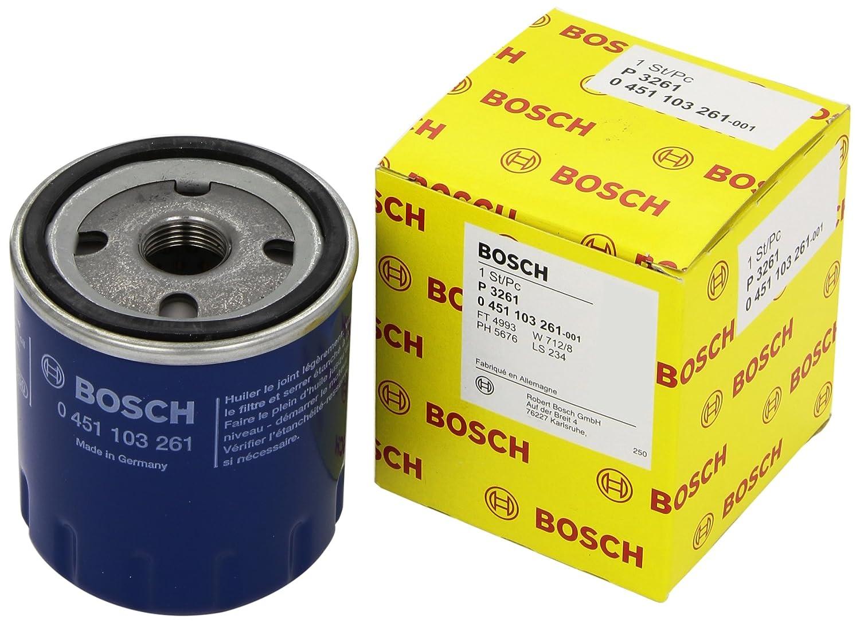 Bosch 0451103261 FILTRO OLIO 206 1.1I Bosch Robert SPA