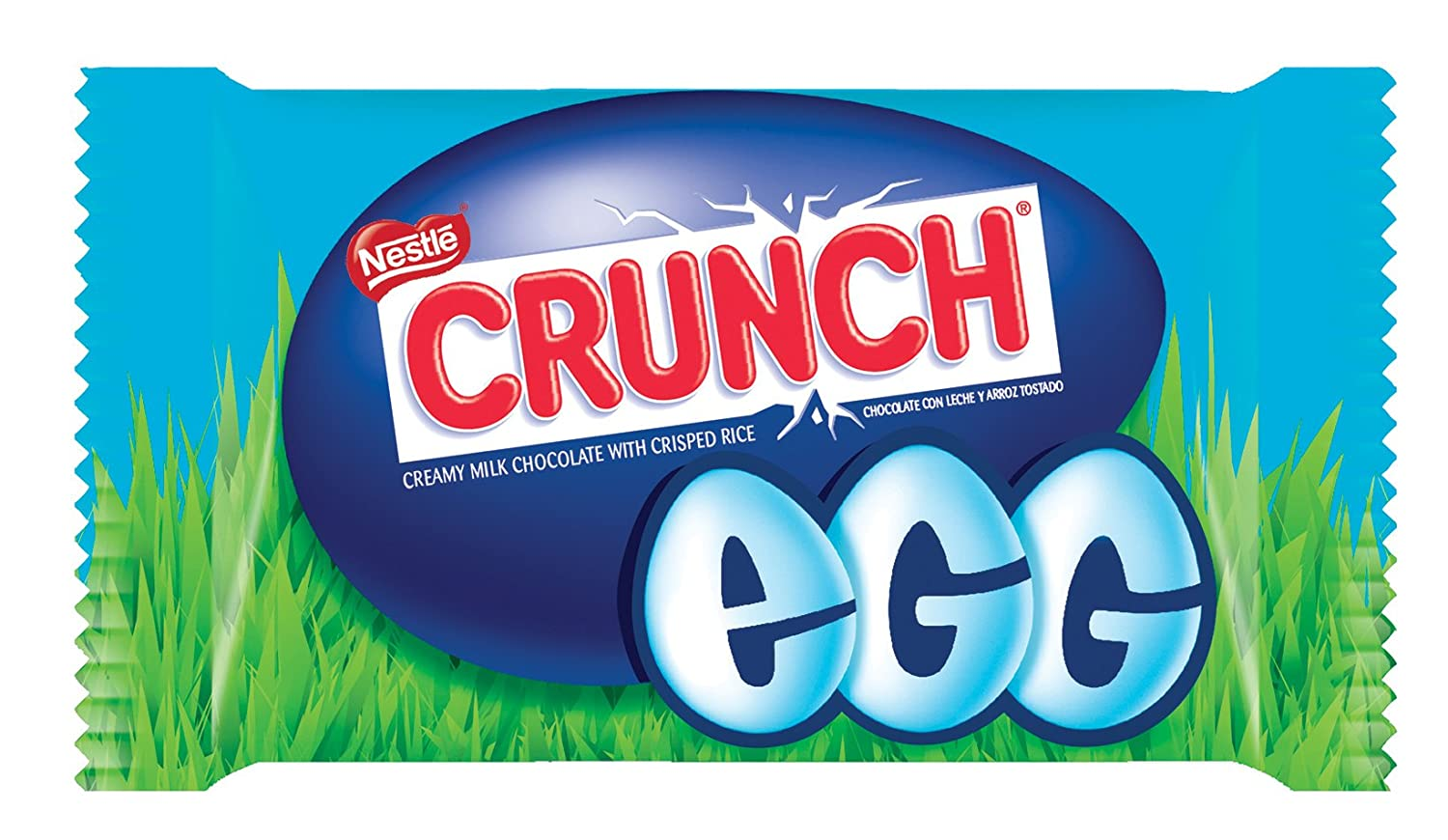Crunch Milk Chocolate Easter Eggs, 1 Ounce (Pack of 24): Amazon.com: Grocery & Gourmet Food