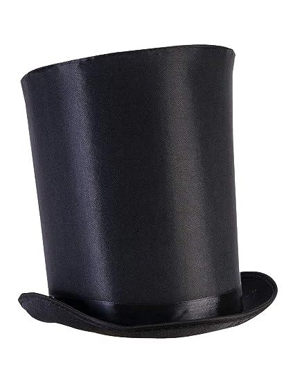 c763ea9ade1592 Amazon.com: Forum Novelties Unisex-Adults Extra Tall Top Hat, Black ...