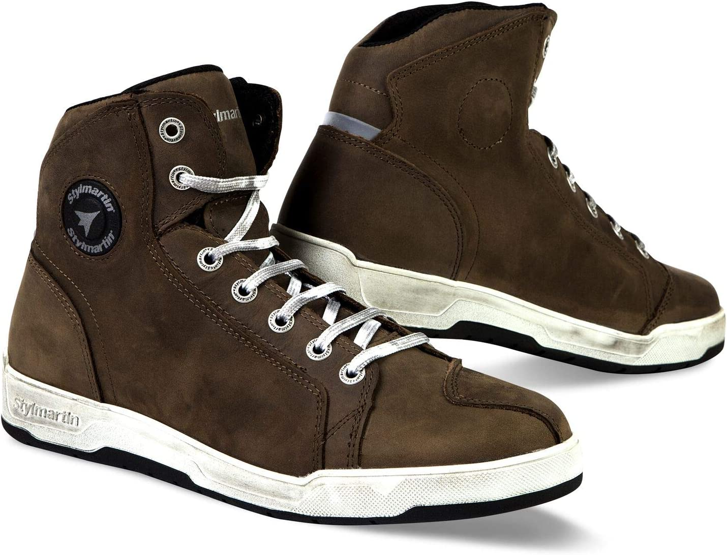 Stylmartin Adult Marshall Urban Line Sneakers Brown, Size: US-7.5, EU-40