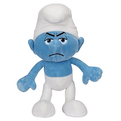 The Smurfs Smurfs Basic Plush Wave #2 Grouchy Basic Plush