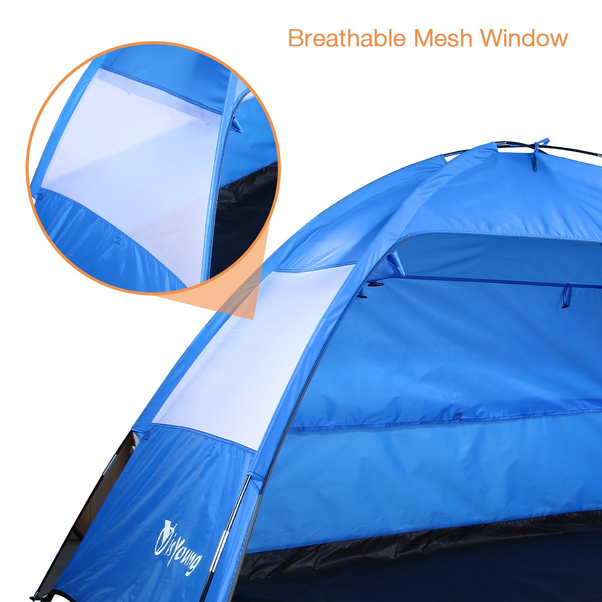 isYoung Beach Tent Sun Shelter Easy to