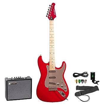 Diente de Sierra para guitarra eléctrica w/Golpeador - incluye: accesorios cartucho de 10 W Amp: Amazon.es: Instrumentos musicales