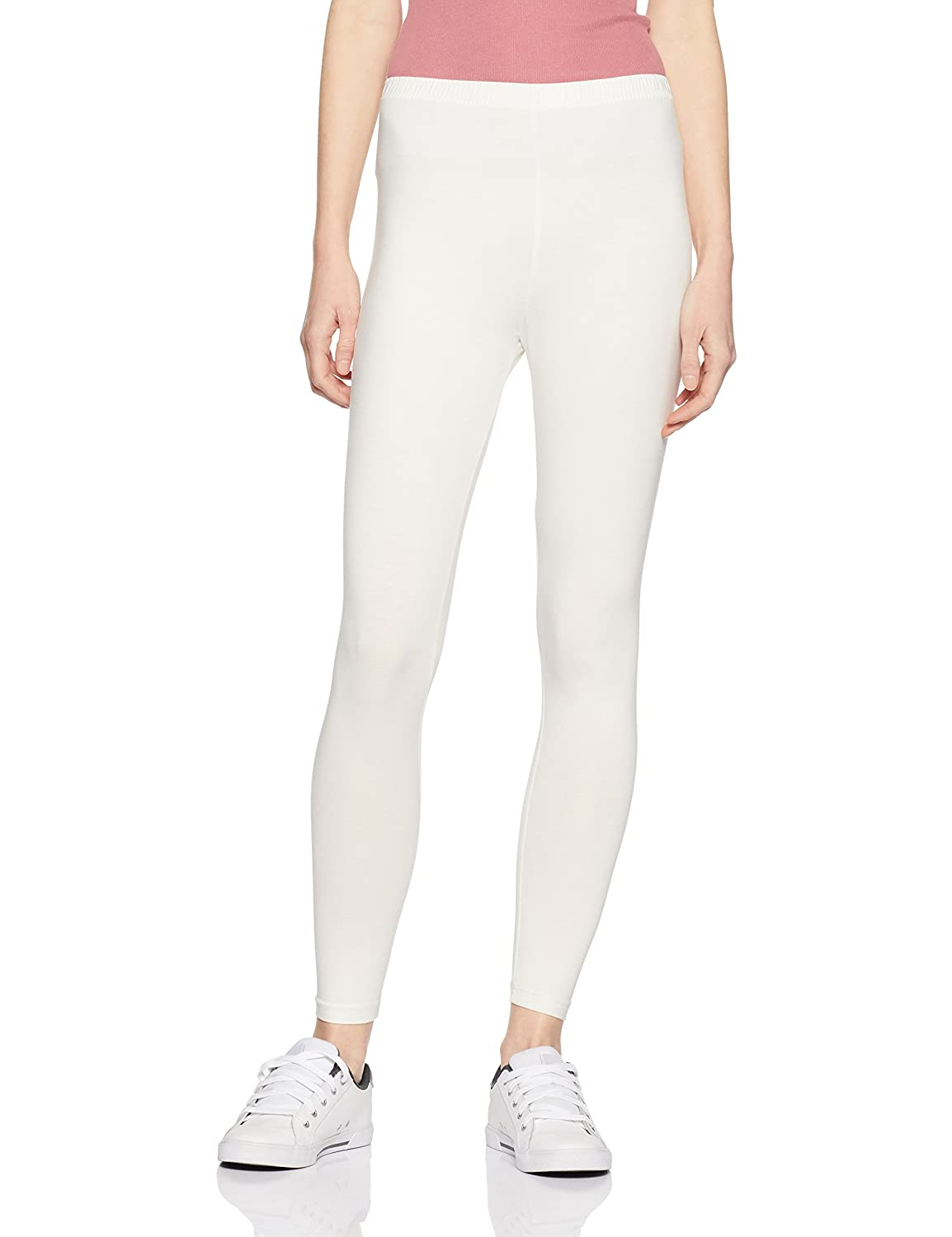 LUX LYRA Women's Leggings (LYRA AL Legg Off White 09_Free...