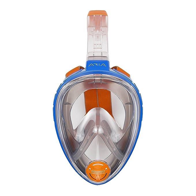 Amazon.com : Ocean Reef Aria Full Face Snorkel Mask : Sports ...
