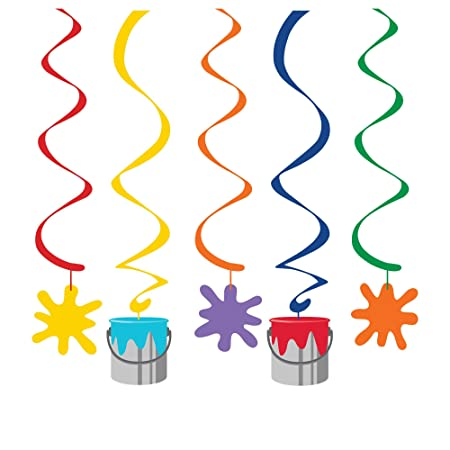 5 piezas hängedeko * Kunterbunt * Cumpleaños para niños o ...