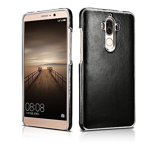 3 opinioni per Huawei Mate 9 Case, DEMEDO (Platinum Series) [100% pelle bovina] placcatura