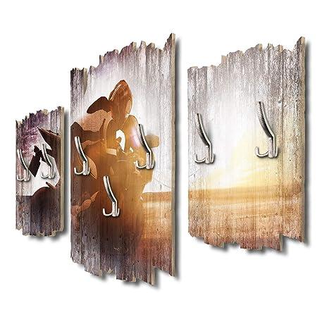 Kreative Feder DTGH125 - Perchero de Pared (95 x 60 cm ...