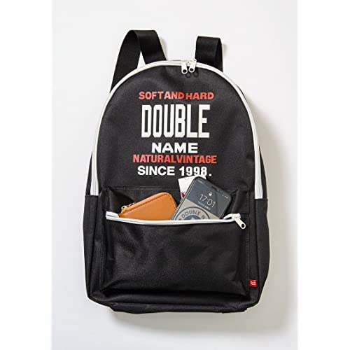 DOUBLE NAME BACKPACK BOOK 画像 D