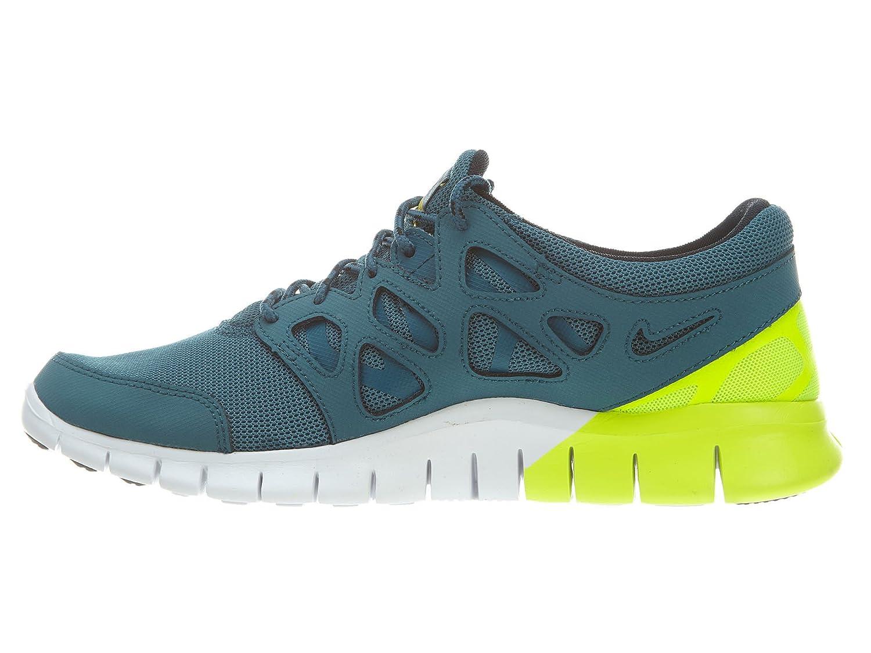 brand new 52c24 ee002 Amazon.com   Nike Mens Free Run 2 NIGHT FACTOR WHITE BLACK DARK CHARCO  537732-301 7.5   Road Running