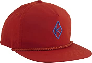 b5bfea758eb Krooked Skateboards Diamond K Red   Blue Snapback Hat - Adjustable