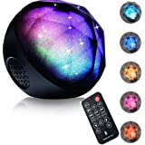 ihoven LED Color Changing Bluetooth Speakers, Portable Wireless LED Ball Bluetooth Speaker Rechargeable Hands-free Magic LED Speakers with Enhanced Bass and Remote for House Party DJ