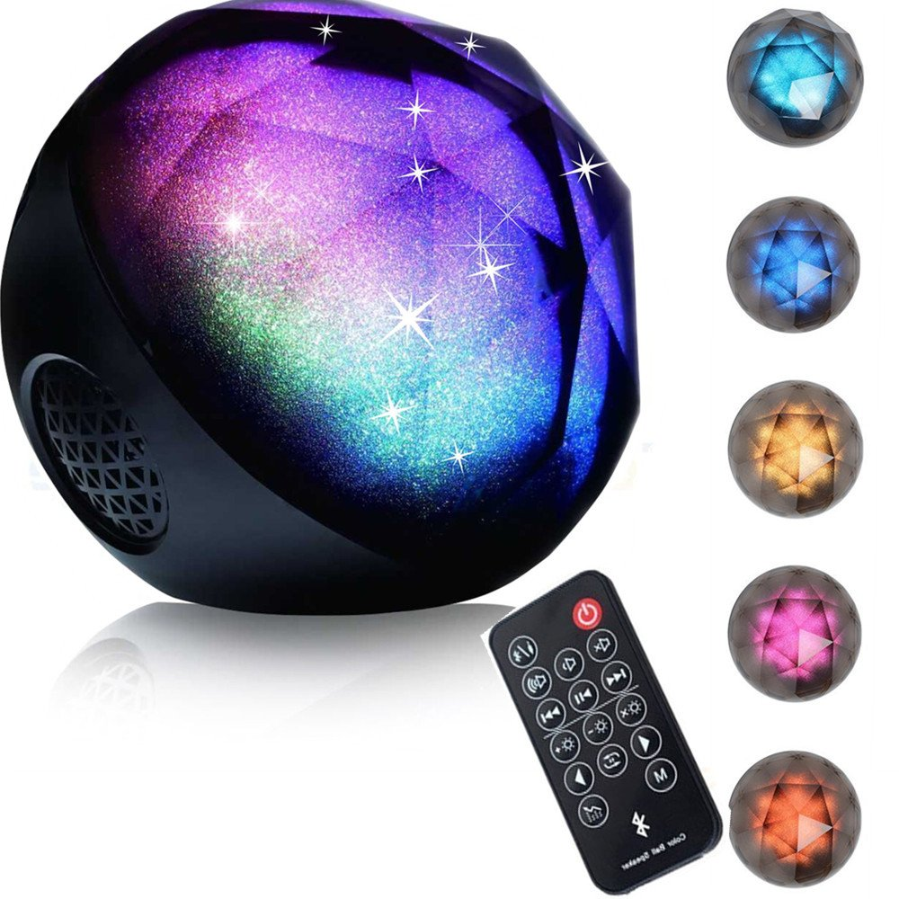 Ball Bluetooth Speakers,IHOVEN Wireless Portable Outdoor Color Changing LED...