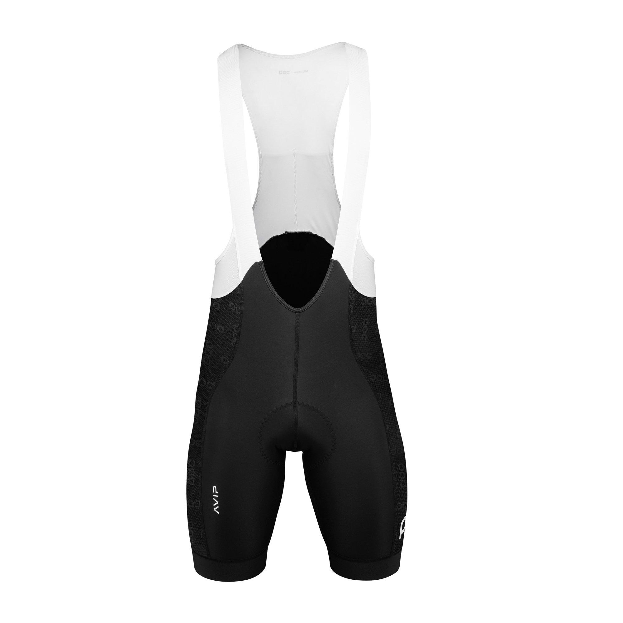 POC AVIP Ceramic VPDs Bib Shorts, Cycling Apparel, Uranium Black, XL