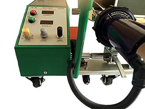 top-3400 automático aire caliente Soldador PVC Banner soldadura máquina para PE plástico materiales