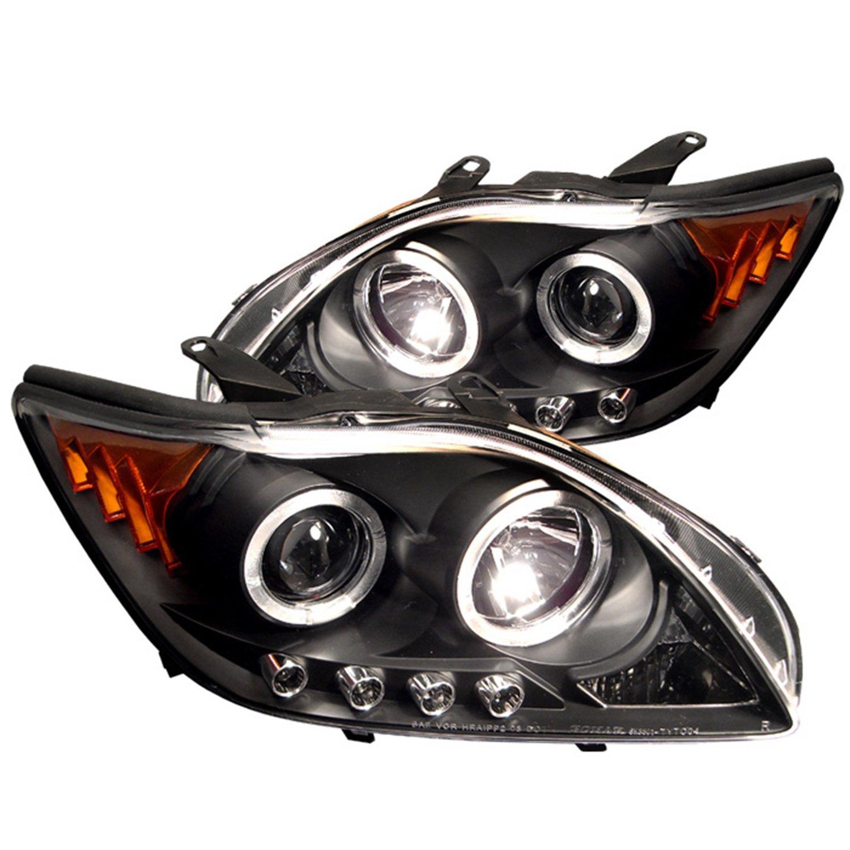 Amazon Spyder Auto Scion TC Black Halogen LED Projector