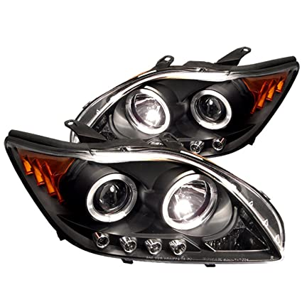 Spyder Auto Scion TC Black Halogen LED Projector Headlight