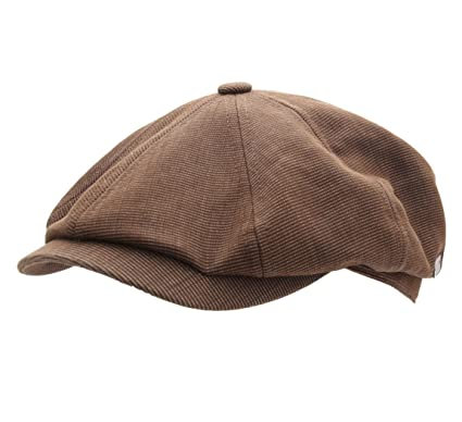Bailey of Hollywood BRITTEN Flat Cap Size M Olive at Amazon Men s ... 28f7a99e8d6