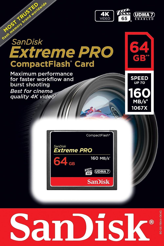 SanDisk Extreme Pro CompactFlash 32GB Speicherkarte bis zu 160MB//s lesen