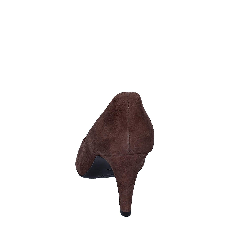 FABI Pumps-Shoes Womens Suede Brown
