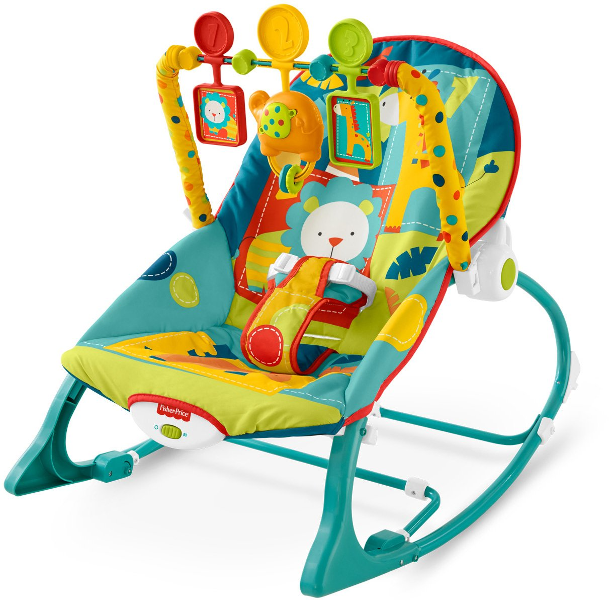 Charmant Baby Bouncer Chair Infant Bounce Rocker Toddler Portable Sleeper Seat Toy  New
