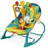 Amazon Price History for:Fisher-Price Infant To Toddler Rocker, Dark Safari