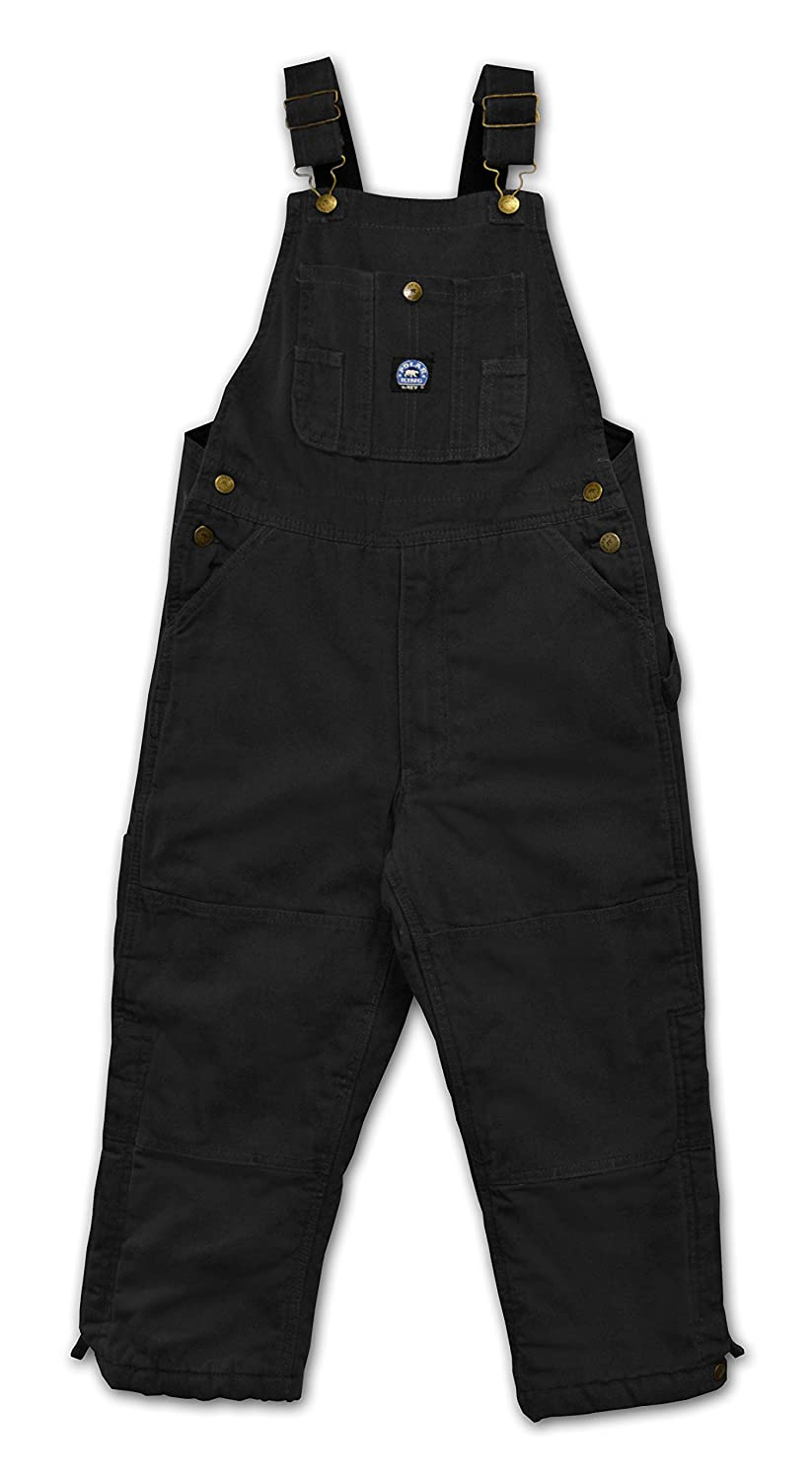 Polar King Big Boys Insulated Black Bib Overalls 259 07