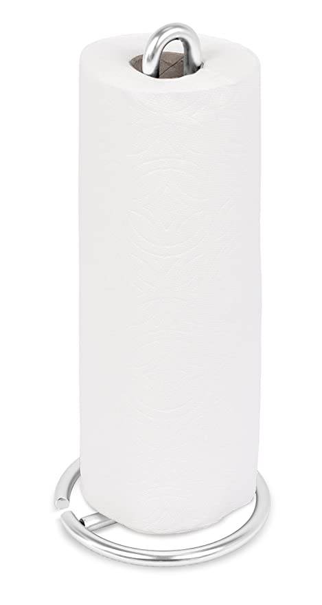 countertop paper towel holder. Internet\u0027s Best Stainless Steel Wire Paper Towel Holder | Brushed Modern Vertical Stand Countertop