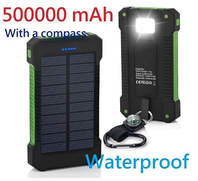 Nos Stock impermeable 500000 mAh Dual USB cargador de ...