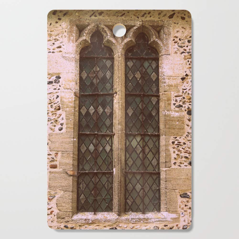 Society6 Wooden Cutting Board, Rectangular, Window by vintageby2sweet