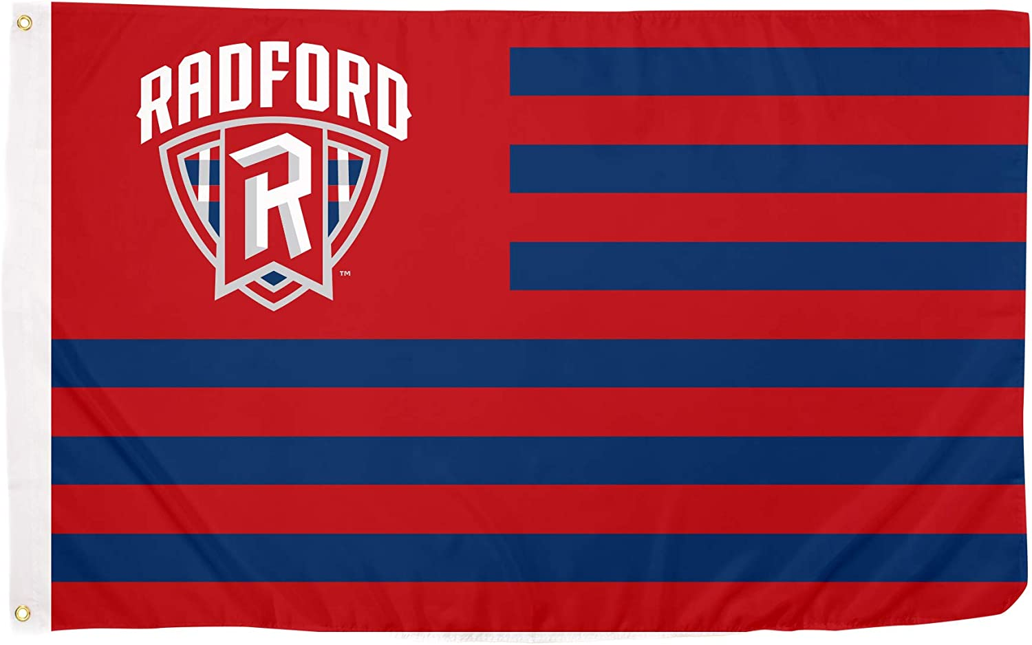 Desert Cactus Radford University Highlanders NCAA 100% Polyester Indoor Outdoor 3 feet x 5 feet Flag (Nation)