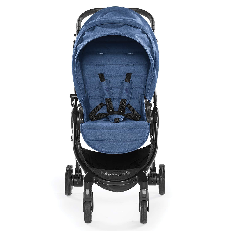 Baby Jogger City Tour LUX , color azul. Silla de paseo de uso desde nacimiento hasta 20,5 kg con plegado ultra compacto y muy ligero