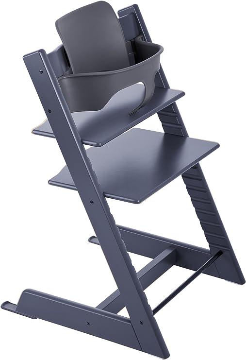 Stokke Tripp Trapp 2019 Juego de silla para bebé, Azul oscuro ...