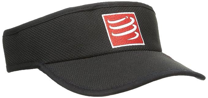 8f74ba06364609 Amazon.com : Compressport Visor Cap - SS19 - One - Black : Clothing