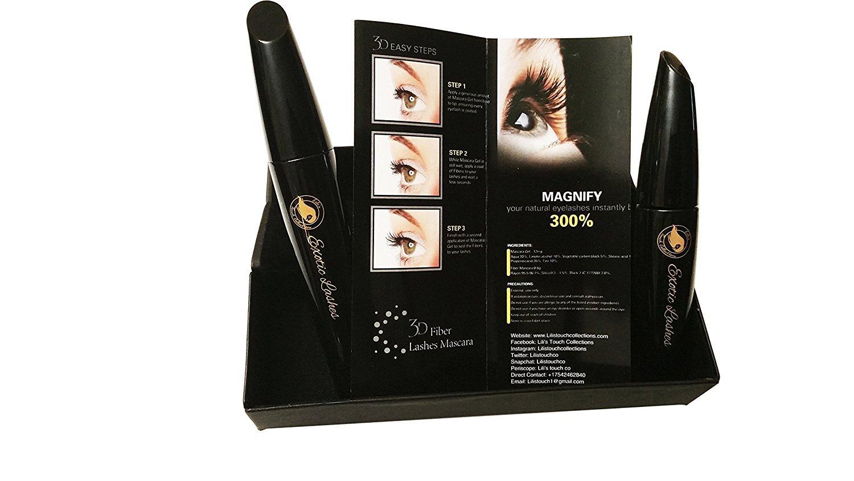 Amazon New Exotic 3d Fiber Lash Mascara 300 Fiber Mascara By