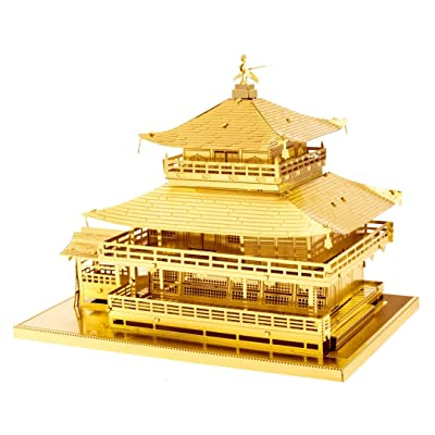 Fascinations MetalEarth - Gold Kinkaku-ji: Toys & Games