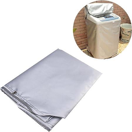 VOSAREA Copertura Antipolvere per Frigorifero Copertura Superiore per Lavatrice con Custodia Impermeabile Antipolvere Formato Casuale